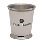 Laser Personalized Mint Julep Cup, normal engraving