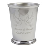 Personalized Mint Julep Cup, normal engraving