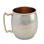Personalized Moscow Mule Mug, normal engraving