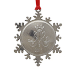 Personalized Christmas Ornament, Normal Logo engraving