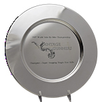 Laser Personalized Charger Plate