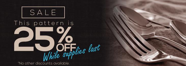 Liberty Tabletop 25% Sale!