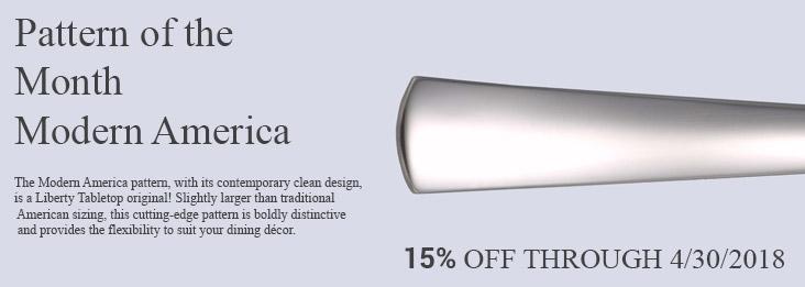 Liberty Tabletop 15% Sale!