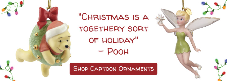 Shop all Cartoon Christmas Ornaments!