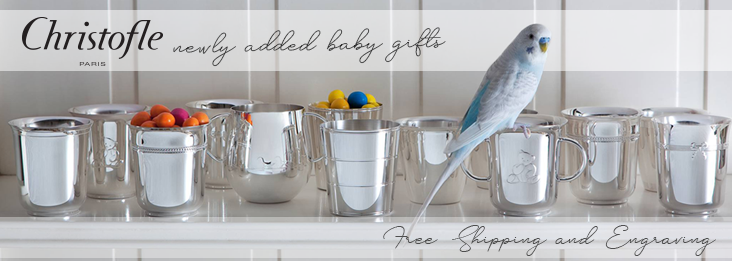 Christofle Silver Baby Gifts at Silverstore