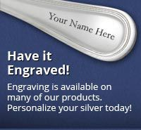 Flatware Engraving Options