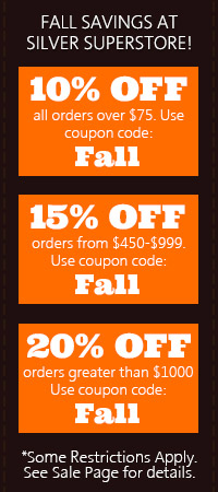 FALL Sale. 10, 15, 20 percent off site wide! Use code FALL