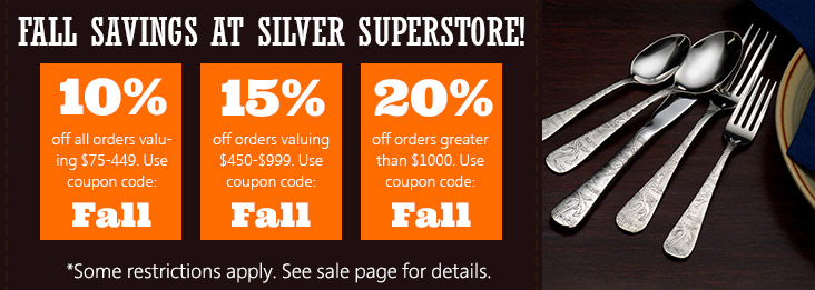 Fall Sale coupon codes for discount of 10, 15, and 20% off site wide! Use code F A L L