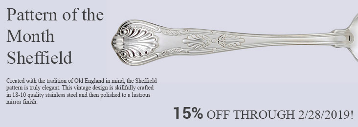 Liberty Tabletop Pattern of the Month for February, Sheffield 15% off!