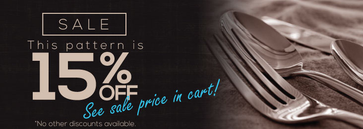 15% Off Sale, add item to cart!