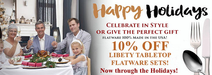 The 2018 Liberty Tabletop Holiday Sale on now, 10% off sets!