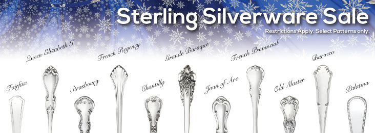 Sterling Silverware Sale