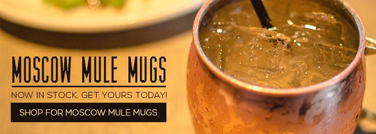 Personalized Moscow Mule Mugs from Silversuperstore!