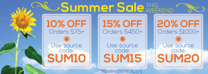 Summer Sale! Discounted Silverware, Personalized Gifts, Free shipping