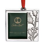 Arthur Court Holly Frame Christmas Ornament