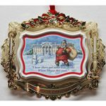 2011 ChemArt White House Theodore Roosevelt Christmas Ornament