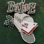 ChemArt Believe Christmas Ornament