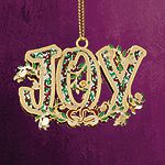 ChemArt Joy Christmas Ornament