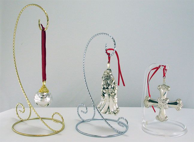 Ornament Stands, Small, Medium, and Large