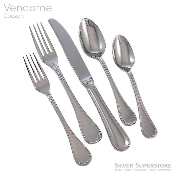 Couzon Vendome Stainless Flatware For Less