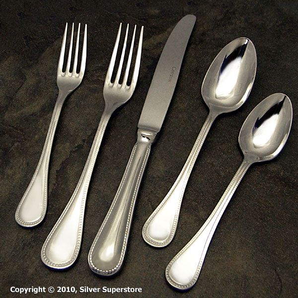 Couzon Le Perle Stainless Flatware For Less