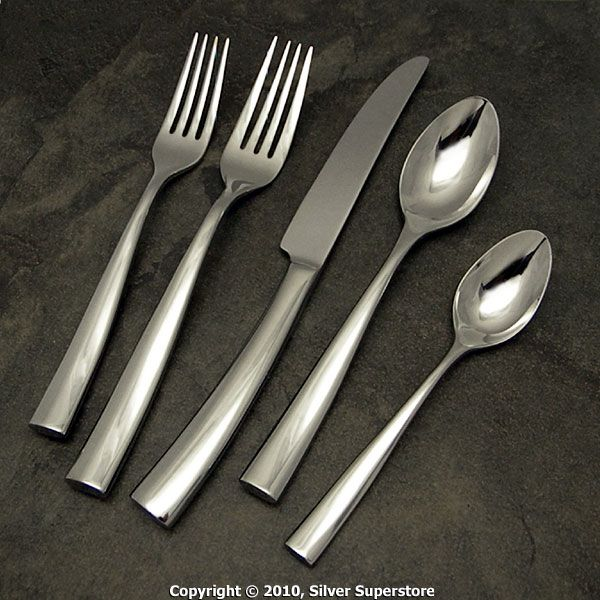 Silhouette Bright By Couzon Stainless Flatware For Less