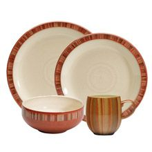Fire Stripes Denby China