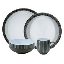 Jet Stripes Denby China