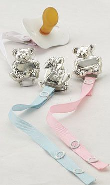 Empire Pacifier Clips