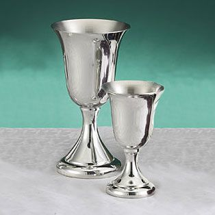 Pewter Goblets By Empire Silver