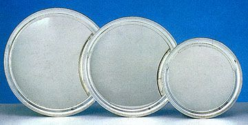 Empire Sterling Silver Round Trays