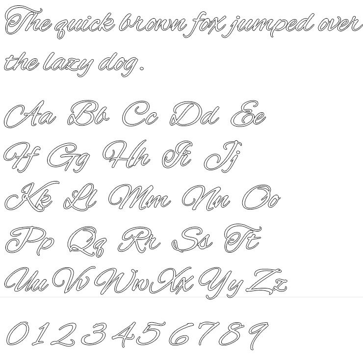 Alex Brush Silver Engraving Font