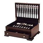 Federal Flatware Silverware Chest