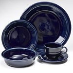 Fiesta Cobalt Blue Dinnerware 5pc Place Setting