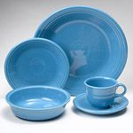Fiesta Peacock Dinnerware 5pc Place Setting