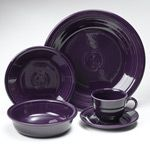 Fiesta Plum Dinnerware 5pc Place Setting