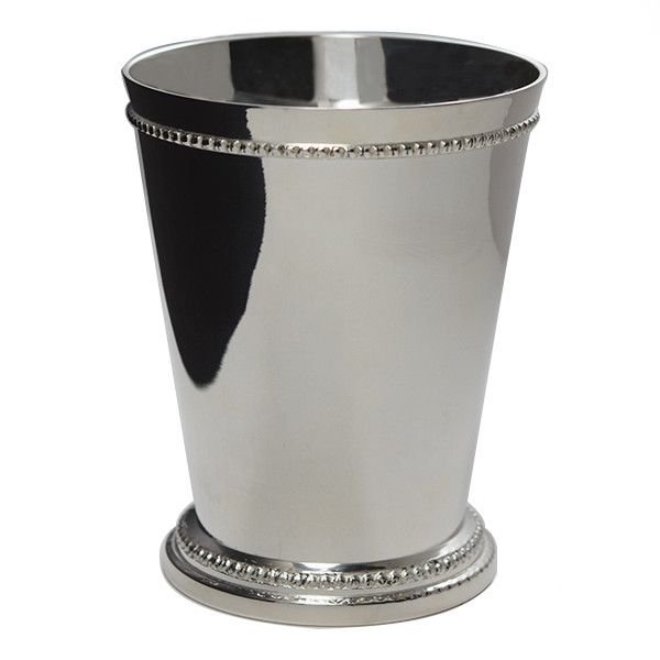 Mint Julep Cups Beaded By Godinger Silverplated