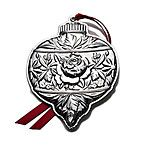 2011 Gorham Repousse Sterling Silver Christmas Ornament