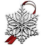 2012 Gorham Snowflake Sterling Silver Christmas Ornament