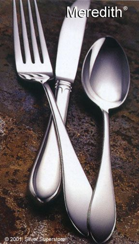 Meredith By Gorham Stainless Steel Flatware Silverware
