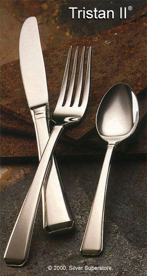 Tristan Ii Stainless Steel Flatware By Gorham Final