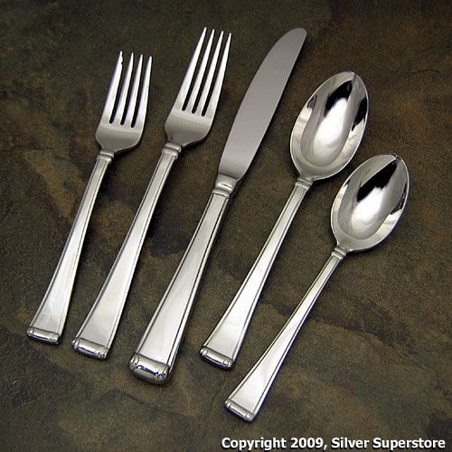 Gorham Column Stainless Flatware For Less
