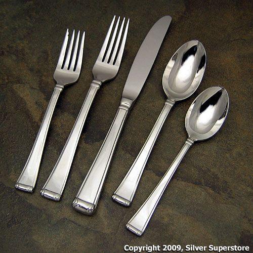 Gorham Stainless Steel Flatware WINFIELD Pattern Set of 6 ... |Gorham Flatware Patterns Stainless Steel