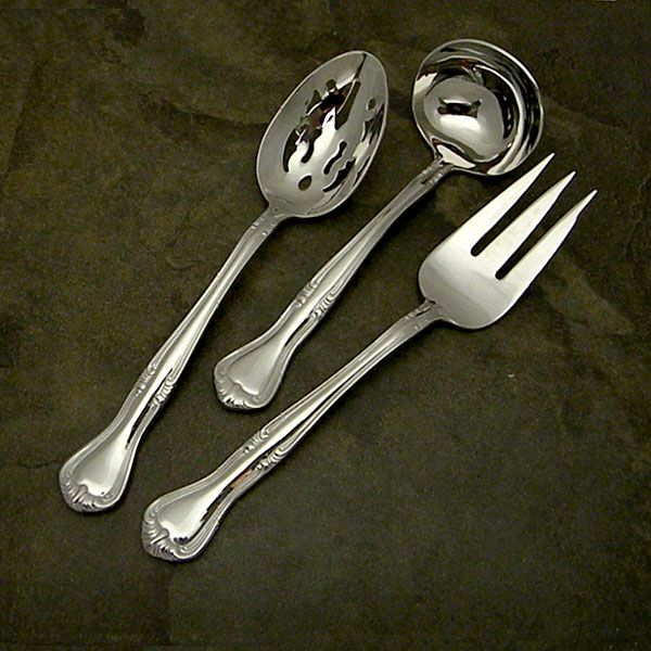 Gorham Valcourt Stainless Flatware For Less