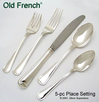 Old French By Gorham New Sterling Silver Flatware