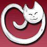 Hand and Hammer Kitten Sterling Silver Christmas Ornament