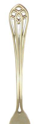 Herdmar Vitral Matte Gold Stainless Flatware Handle