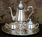 Reed and Barton Silverplated Grand Coffee Set