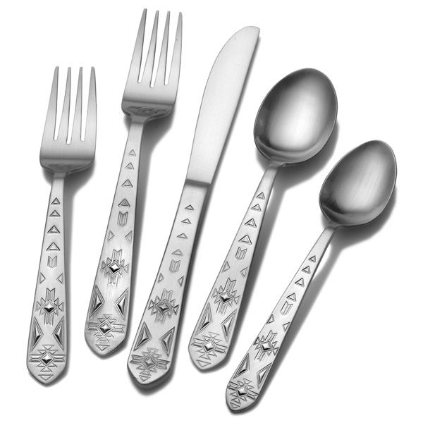 towle everyday pueblo stainless steel flatware - Stainless Steel Flatware