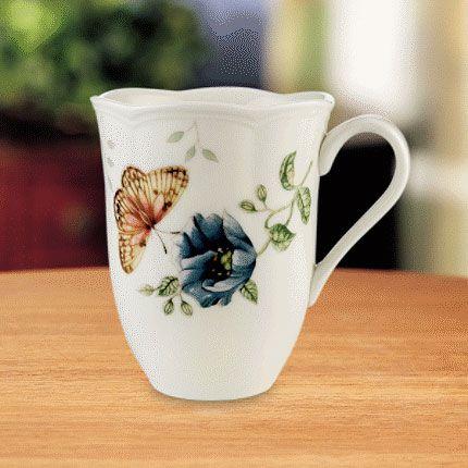 Lenox Butterfly Meadow Fritillary Mug, China